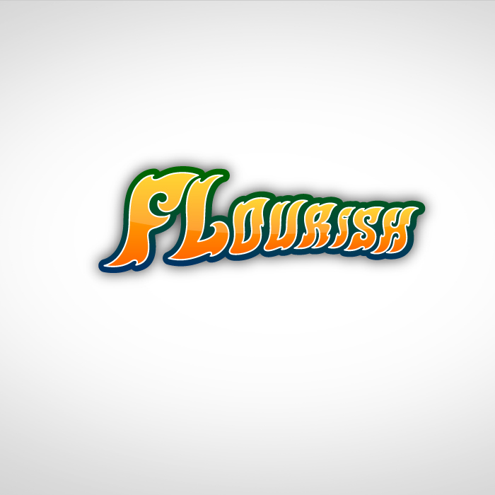 Logo Design by MarkDTN8 - Entry No. 46 in the Logo Design Contest Flourish.