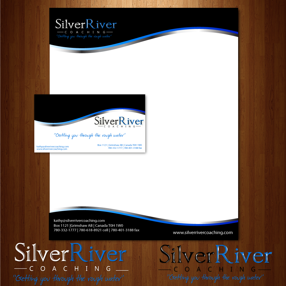 Logo Design by moonflower - Entry No. 230 in the Logo Design Contest Logo Design Needed for Exciting New Company Silver River Coaching.