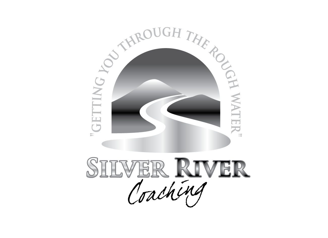 Logo Design by Severiano Fernandes - Entry No. 232 in the Logo Design Contest Logo Design Needed for Exciting New Company Silver River Coaching.