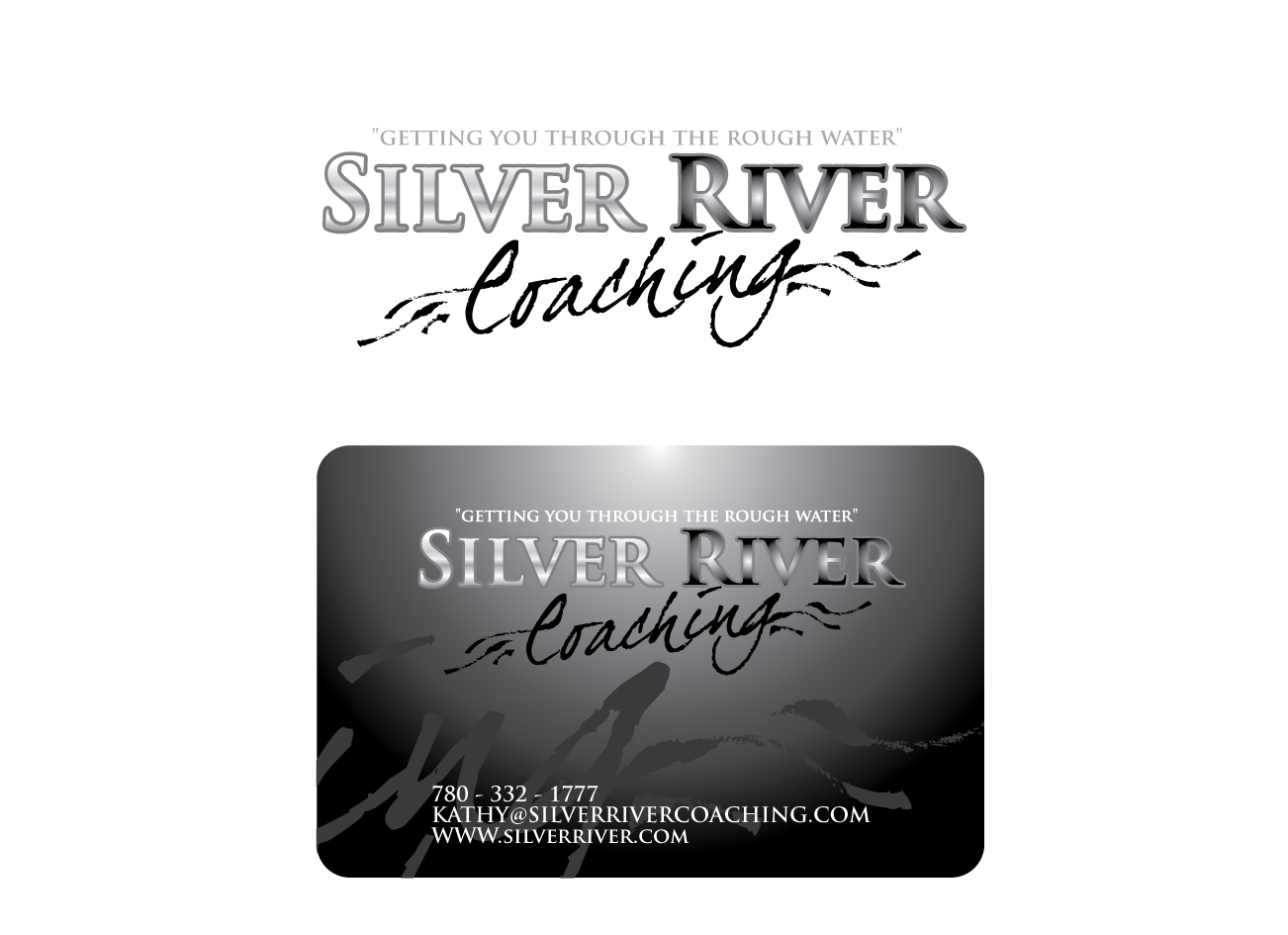 Logo Design by Severiano Fernandes - Entry No. 233 in the Logo Design Contest Logo Design Needed for Exciting New Company Silver River Coaching.
