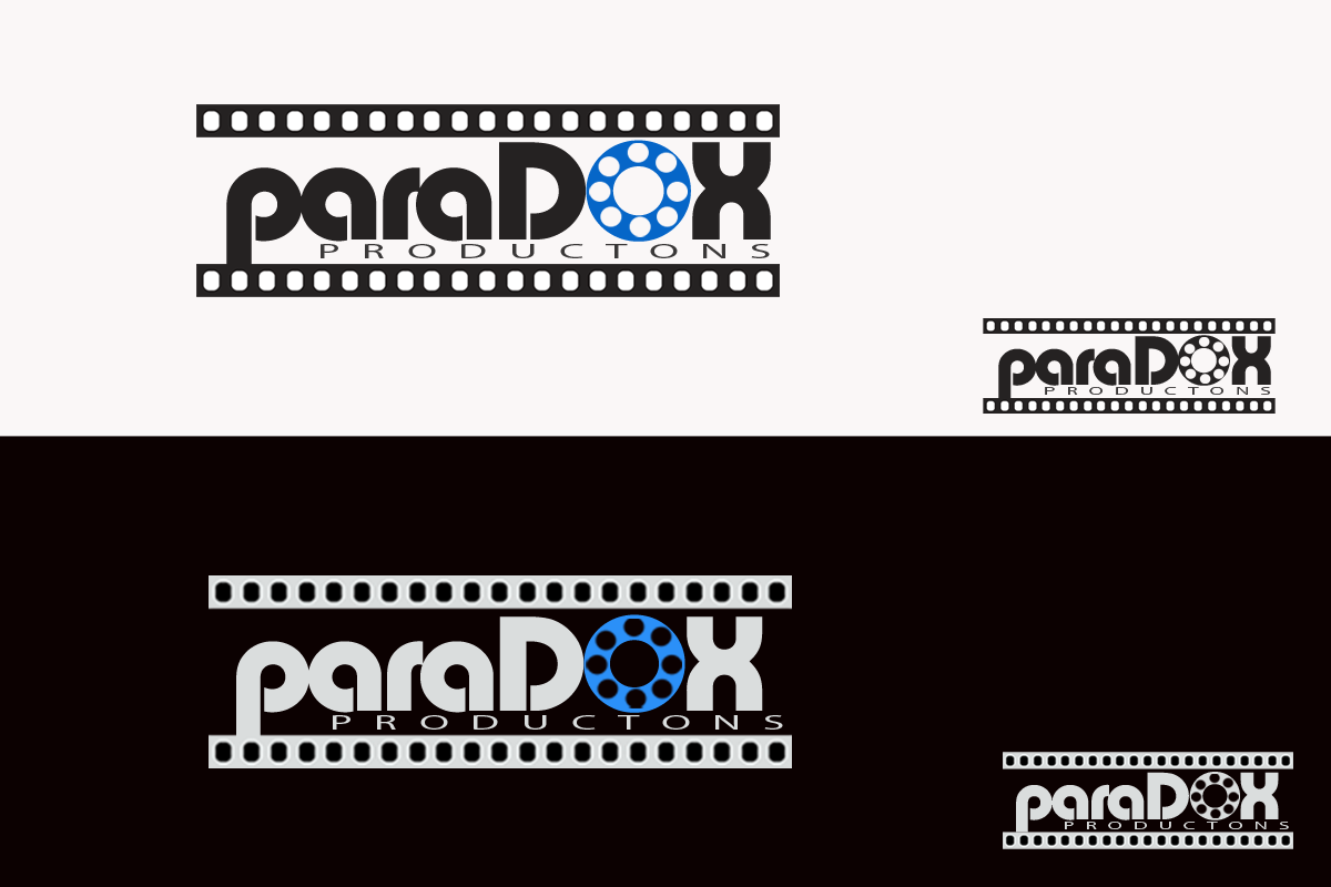 Logo Design by Golden_Hand - Entry No. 124 in the Logo Design Contest Unique Logo Design Wanted for PARADOX Productions.