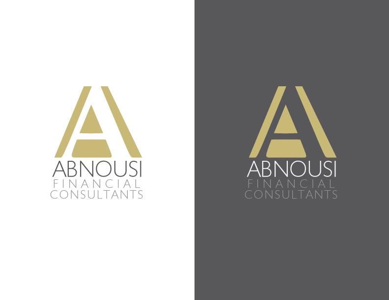 Logo Design by IconicDesign - Entry No. 1 in the Logo Design Contest Fun Logo Design for Abnousi Financial Consultants.