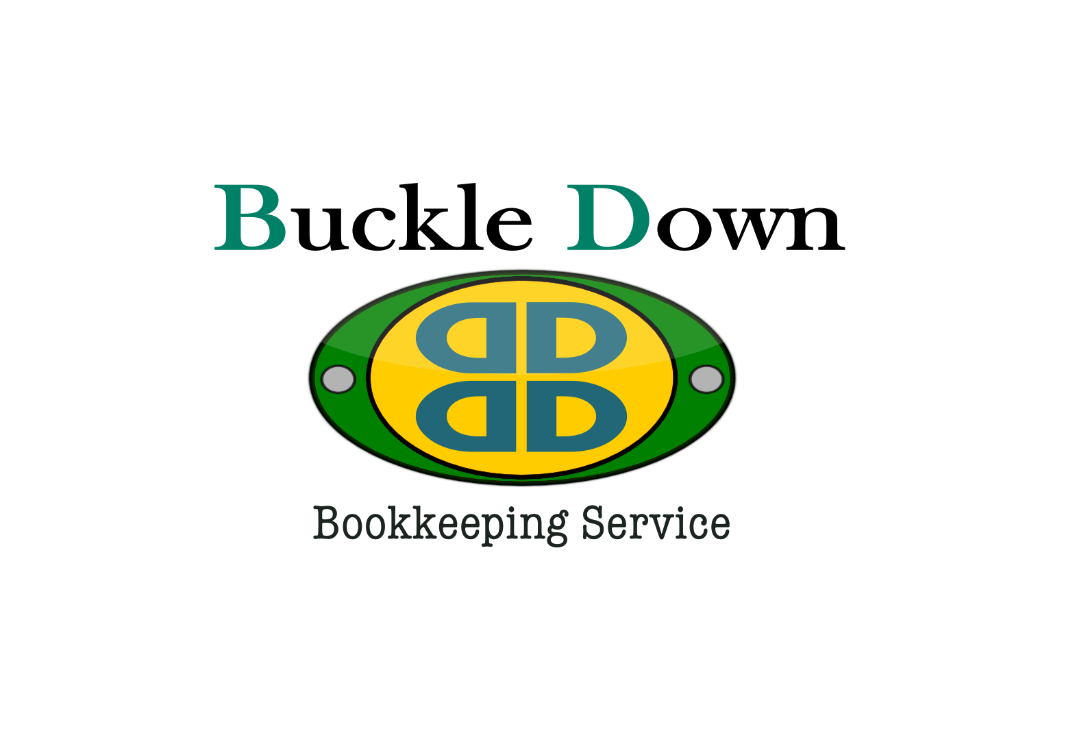 Logo Design by Joseph calunsag Cagaanan - Entry No. 5 in the Logo Design Contest Unique Logo Design Wanted for Buckle Down Bookkeeping Service.