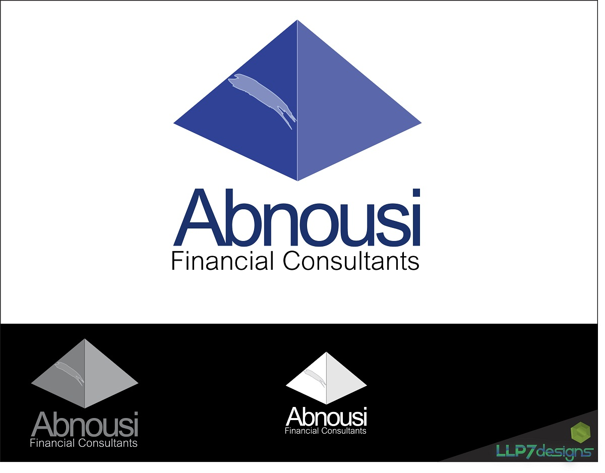 Logo Design by LLP7 - Entry No. 4 in the Logo Design Contest Fun Logo Design for Abnousi Financial Consultants.