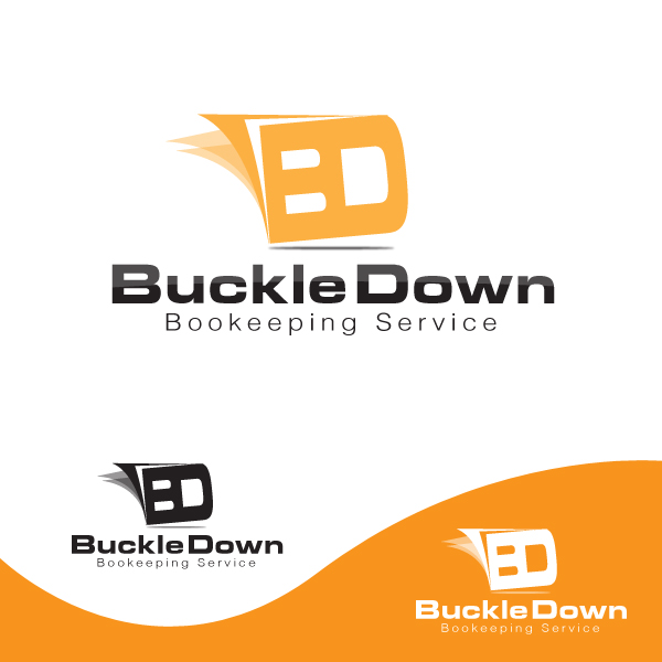 Logo Design by storm - Entry No. 21 in the Logo Design Contest Unique Logo Design Wanted for Buckle Down Bookkeeping Service.