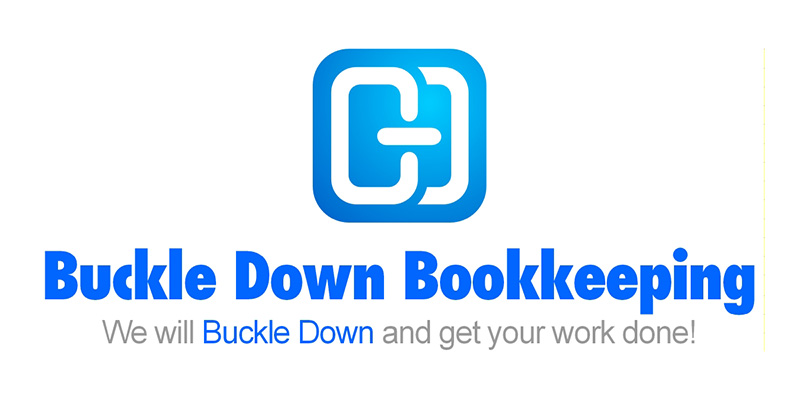 Logo Design by scorpy - Entry No. 25 in the Logo Design Contest Unique Logo Design Wanted for Buckle Down Bookkeeping Service.