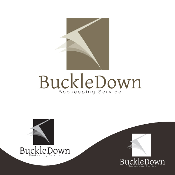 Logo Design by storm - Entry No. 28 in the Logo Design Contest Unique Logo Design Wanted for Buckle Down Bookkeeping Service.