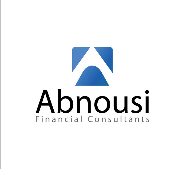 Logo Design by kinza19 - Entry No. 13 in the Logo Design Contest Fun Logo Design for Abnousi Financial Consultants.