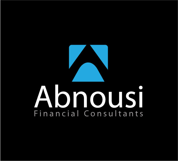 Logo Design by kinza19 - Entry No. 14 in the Logo Design Contest Fun Logo Design for Abnousi Financial Consultants.