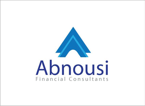 Logo Design by kinza19 - Entry No. 15 in the Logo Design Contest Fun Logo Design for Abnousi Financial Consultants.