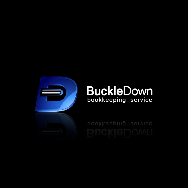 Logo Design by zesthar - Entry No. 29 in the Logo Design Contest Unique Logo Design Wanted for Buckle Down Bookkeeping Service.