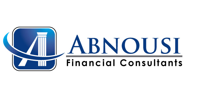 Logo Design by rust_shell - Entry No. 24 in the Logo Design Contest Fun Logo Design for Abnousi Financial Consultants.