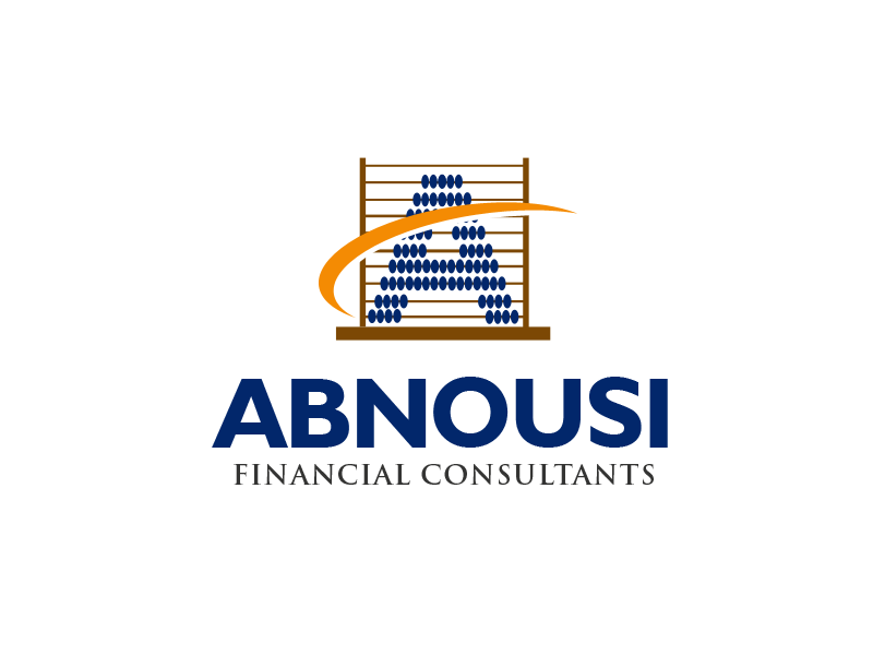 Logo Design by alocelja - Entry No. 26 in the Logo Design Contest Fun Logo Design for Abnousi Financial Consultants.