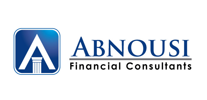 Logo Design by rust_shell - Entry No. 28 in the Logo Design Contest Fun Logo Design for Abnousi Financial Consultants.
