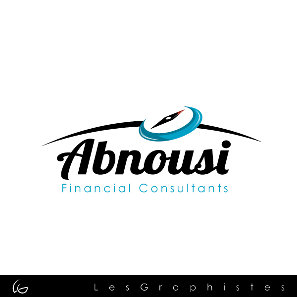 Logo Design by Les-Graphistes - Entry No. 31 in the Logo Design Contest Fun Logo Design for Abnousi Financial Consultants.