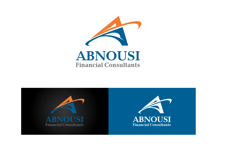 Logo Design by peps - Entry No. 32 in the Logo Design Contest Fun Logo Design for Abnousi Financial Consultants.