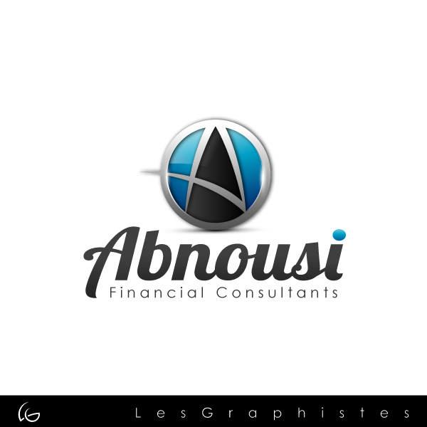 Logo Design by Les-Graphistes - Entry No. 33 in the Logo Design Contest Fun Logo Design for Abnousi Financial Consultants.