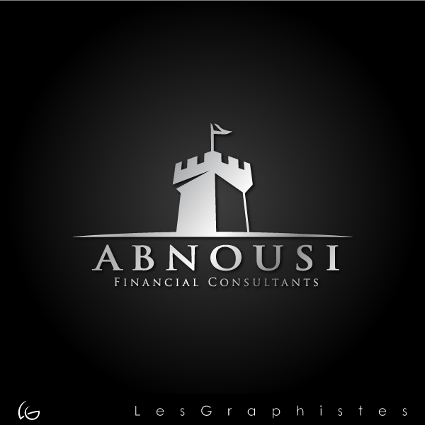 Logo Design by Les-Graphistes - Entry No. 34 in the Logo Design Contest Fun Logo Design for Abnousi Financial Consultants.