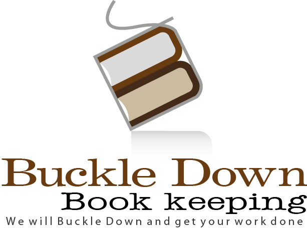 Logo Design by fathan - Entry No. 33 in the Logo Design Contest Unique Logo Design Wanted for Buckle Down Bookkeeping Service.