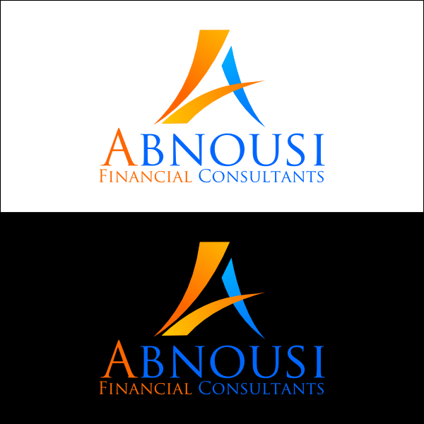 Logo Design by Joseph Vebra - Entry No. 40 in the Logo Design Contest Fun Logo Design for Abnousi Financial Consultants.