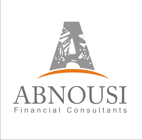 Logo Design by Alex63 - Entry No. 43 in the Logo Design Contest Fun Logo Design for Abnousi Financial Consultants.