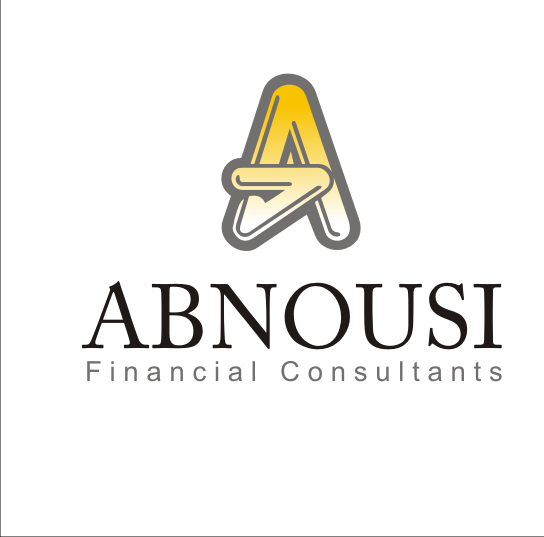 Logo Design by Alex63 - Entry No. 45 in the Logo Design Contest Fun Logo Design for Abnousi Financial Consultants.