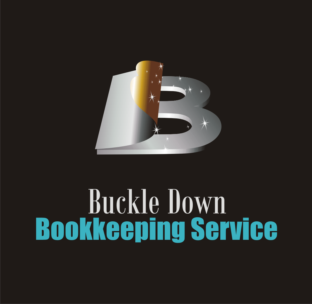 Logo Design by Alex63 - Entry No. 36 in the Logo Design Contest Unique Logo Design Wanted for Buckle Down Bookkeeping Service.