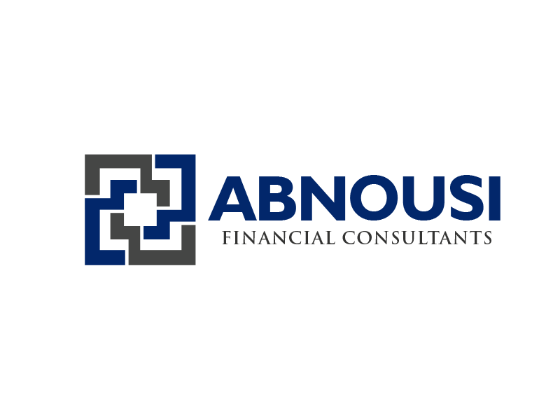 Logo Design by alocelja - Entry No. 47 in the Logo Design Contest Fun Logo Design for Abnousi Financial Consultants.