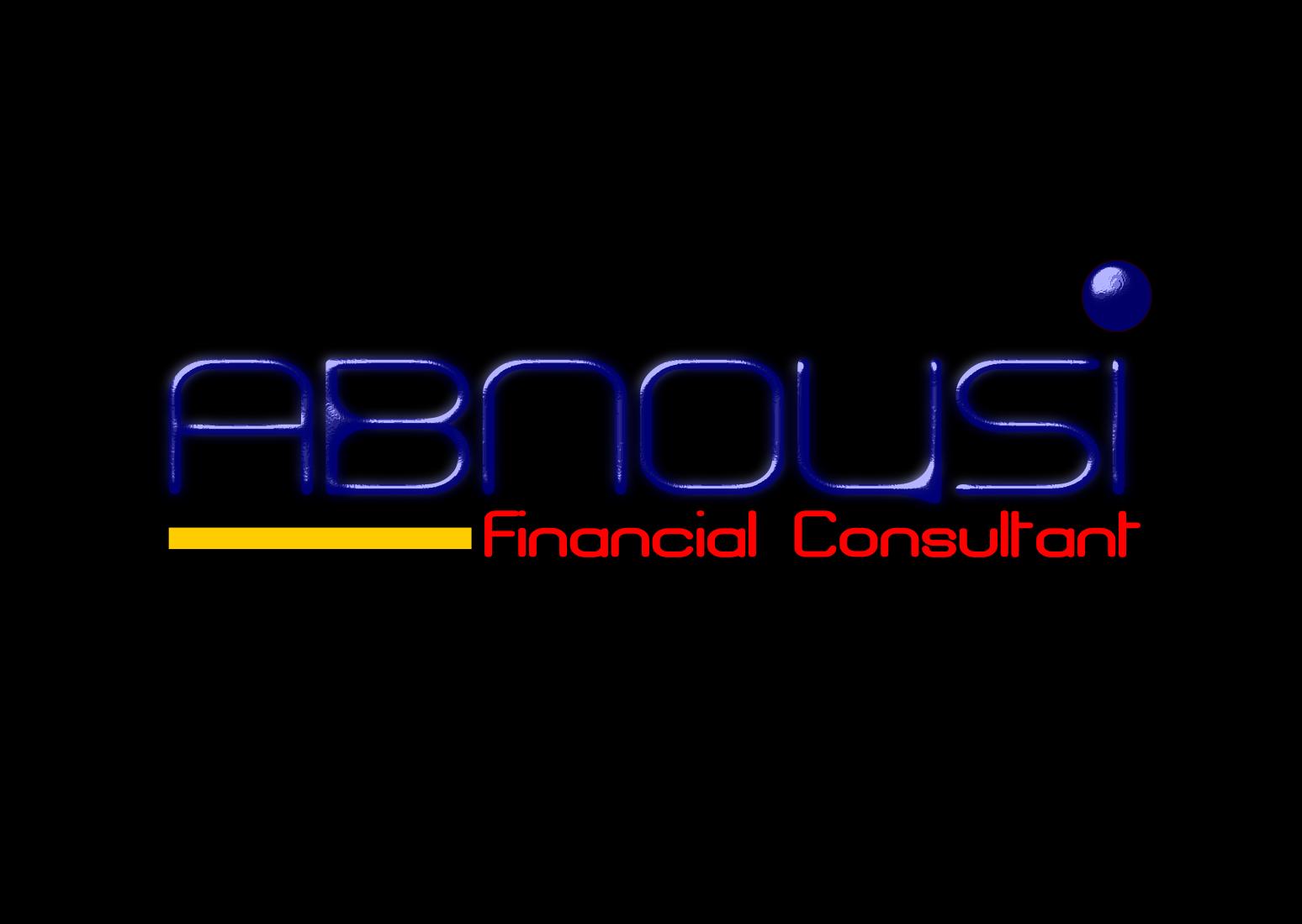 Logo Design by Joseph calunsag Cagaanan - Entry No. 52 in the Logo Design Contest Fun Logo Design for Abnousi Financial Consultants.