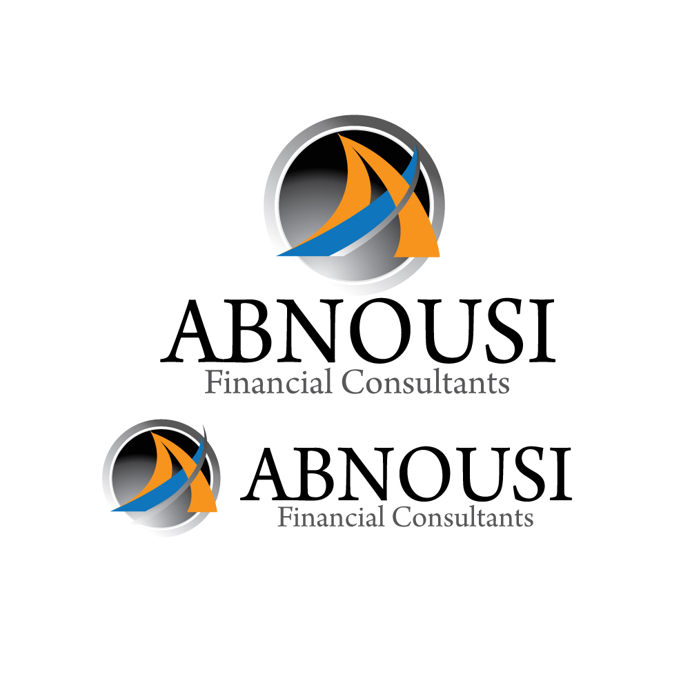 Logo Design by stormbighit - Entry No. 61 in the Logo Design Contest Fun Logo Design for Abnousi Financial Consultants.