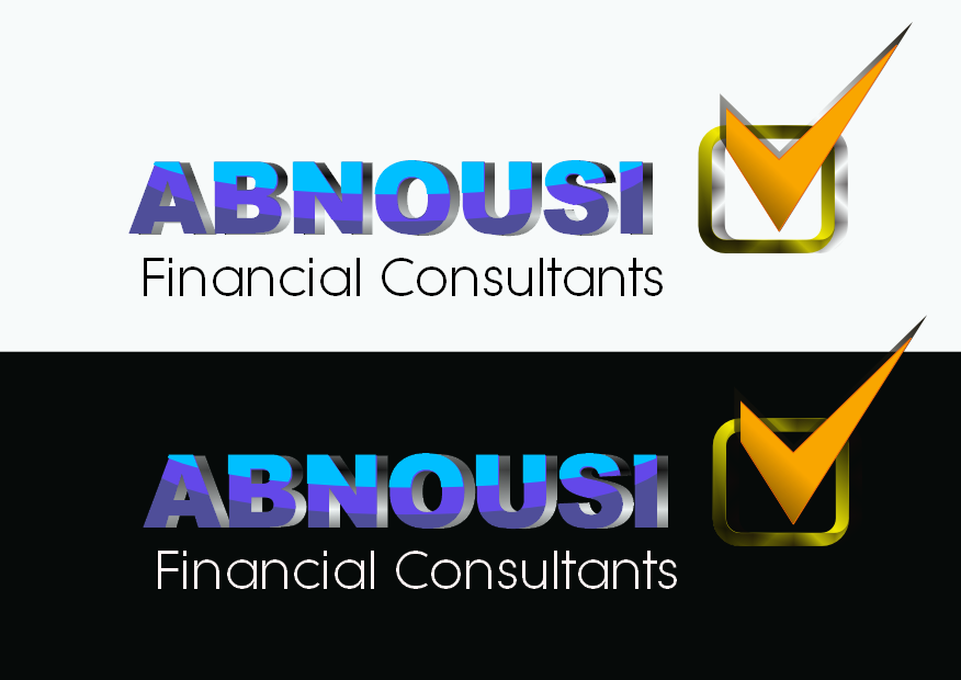 Logo Design by Heri Susanto - Entry No. 62 in the Logo Design Contest Fun Logo Design for Abnousi Financial Consultants.