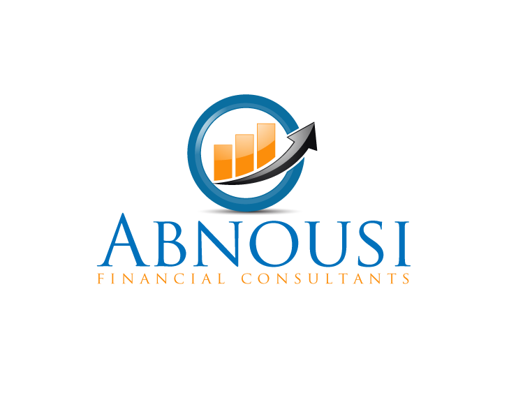 Logo Design by Private User - Entry No. 65 in the Logo Design Contest Fun Logo Design for Abnousi Financial Consultants.