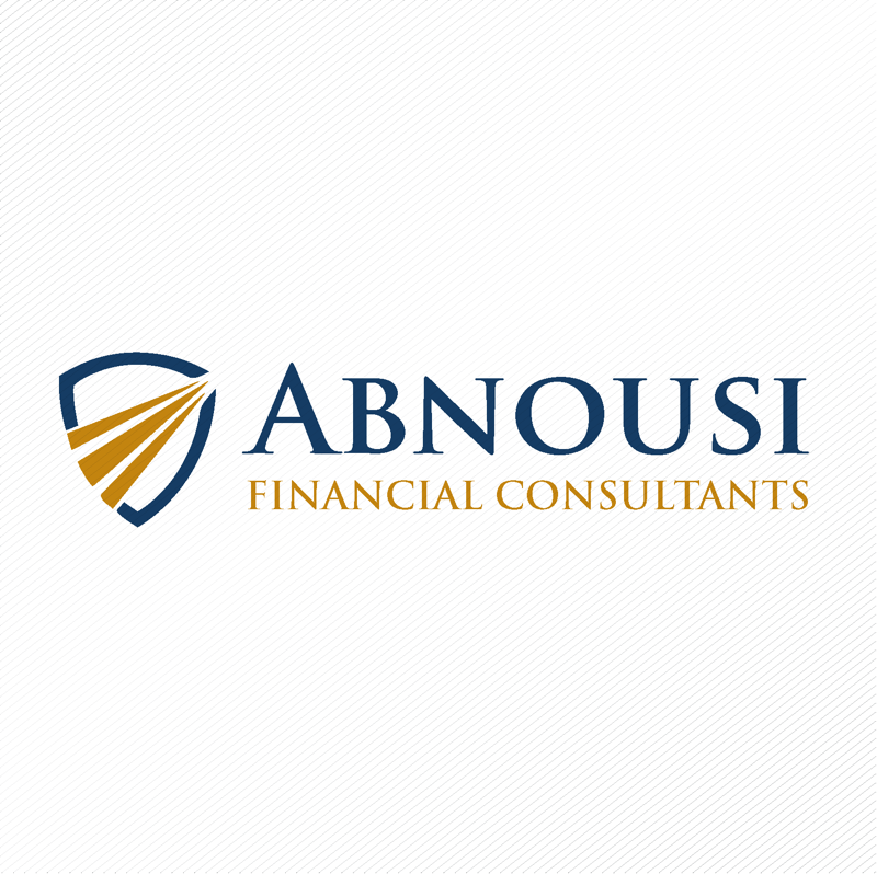 Logo Design by dwimalai - Entry No. 70 in the Logo Design Contest Fun Logo Design for Abnousi Financial Consultants.