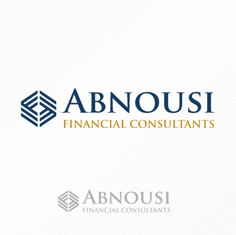 Logo Design by dwimalai - Entry No. 71 in the Logo Design Contest Fun Logo Design for Abnousi Financial Consultants.