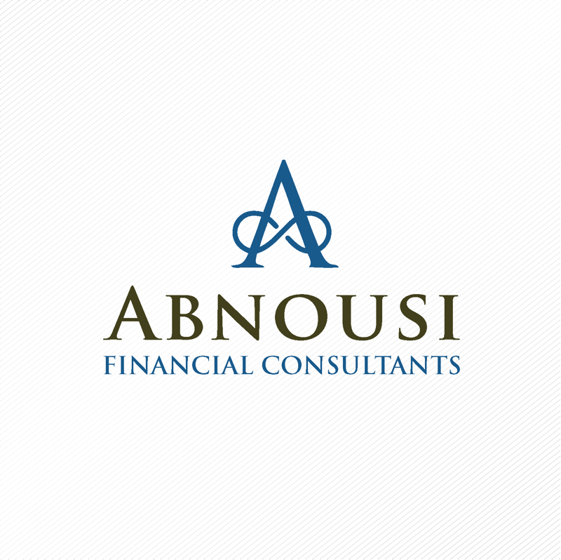 Logo Design by dwimalai - Entry No. 73 in the Logo Design Contest Fun Logo Design for Abnousi Financial Consultants.