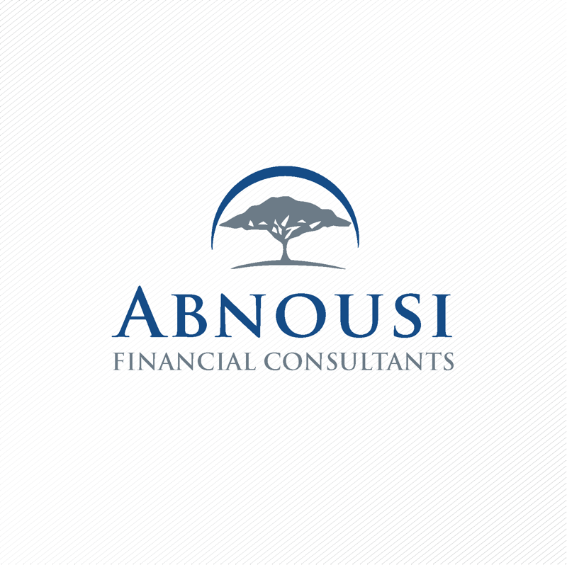 Logo Design by dwimalai - Entry No. 74 in the Logo Design Contest Fun Logo Design for Abnousi Financial Consultants.