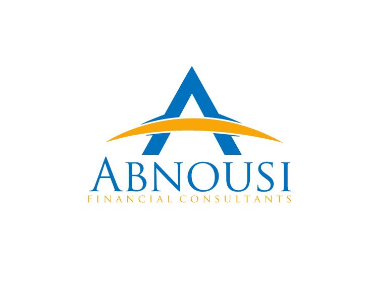 Logo Design by Private User - Entry No. 76 in the Logo Design Contest Fun Logo Design for Abnousi Financial Consultants.