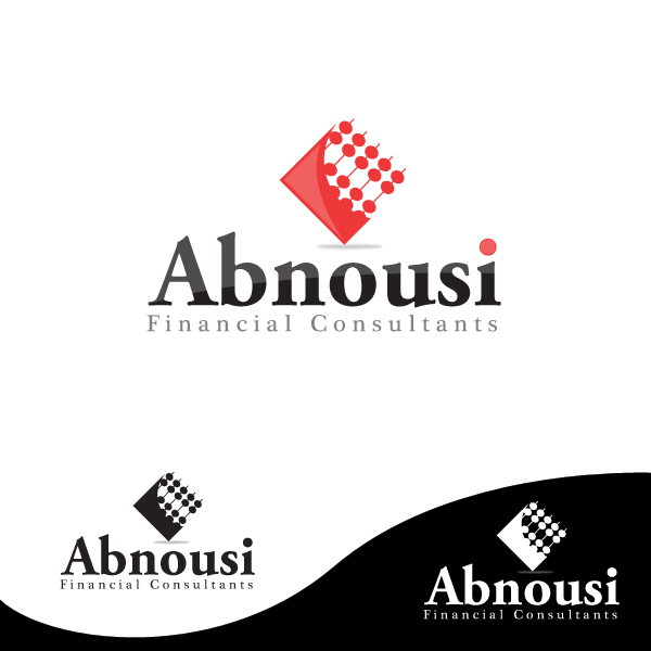 Logo Design by storm - Entry No. 78 in the Logo Design Contest Fun Logo Design for Abnousi Financial Consultants.