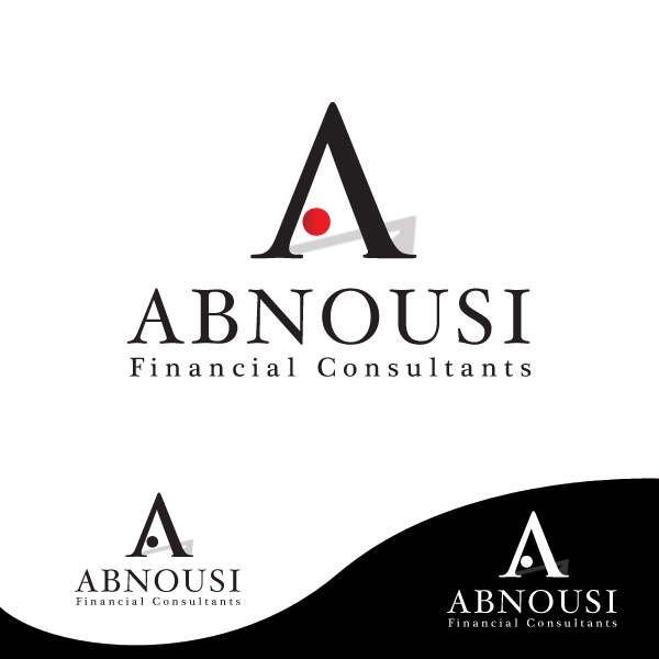 Logo Design by storm - Entry No. 79 in the Logo Design Contest Fun Logo Design for Abnousi Financial Consultants.