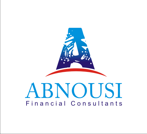 Logo Design by Alex63 - Entry No. 81 in the Logo Design Contest Fun Logo Design for Abnousi Financial Consultants.