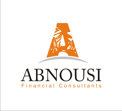Logo Design by Alex63 - Entry No. 82 in the Logo Design Contest Fun Logo Design for Abnousi Financial Consultants.