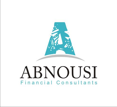 Logo Design by Alex63 - Entry No. 83 in the Logo Design Contest Fun Logo Design for Abnousi Financial Consultants.