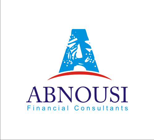 Logo Design by Alex63 - Entry No. 84 in the Logo Design Contest Fun Logo Design for Abnousi Financial Consultants.