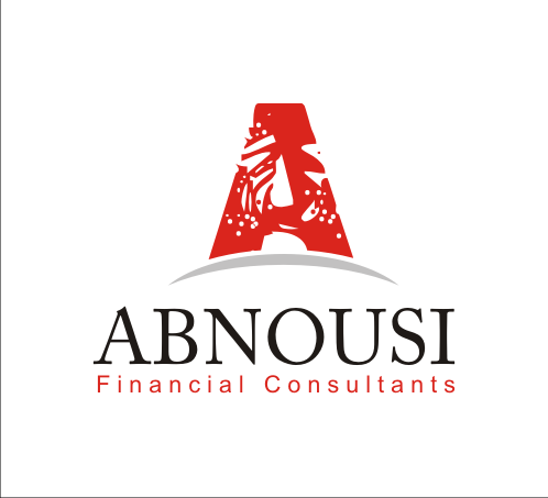 Logo Design by Alex63 - Entry No. 85 in the Logo Design Contest Fun Logo Design for Abnousi Financial Consultants.
