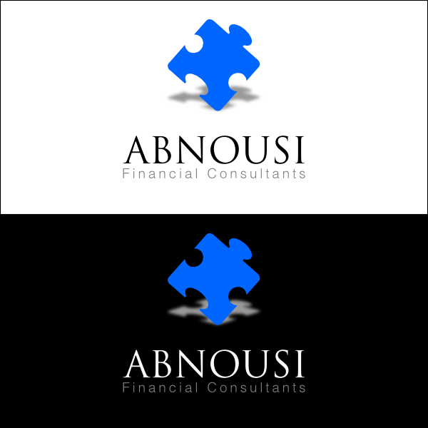 Logo Design by Joseph Vebra - Entry No. 87 in the Logo Design Contest Fun Logo Design for Abnousi Financial Consultants.