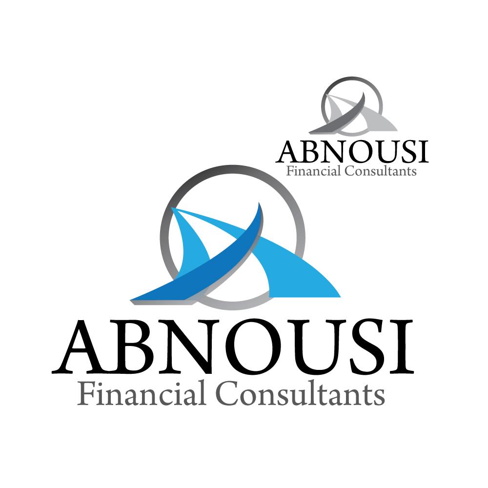Logo Design by stormbighit - Entry No. 89 in the Logo Design Contest Fun Logo Design for Abnousi Financial Consultants.
