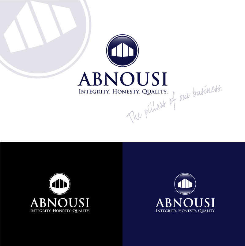 Logo Design by trav - Entry No. 96 in the Logo Design Contest Fun Logo Design for Abnousi Financial Consultants.