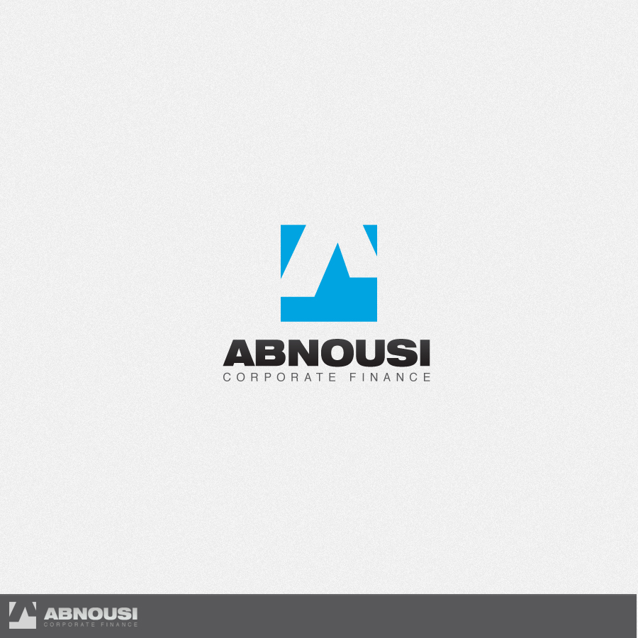 Logo Design by rockpinoy - Entry No. 102 in the Logo Design Contest Fun Logo Design for Abnousi Financial Consultants.