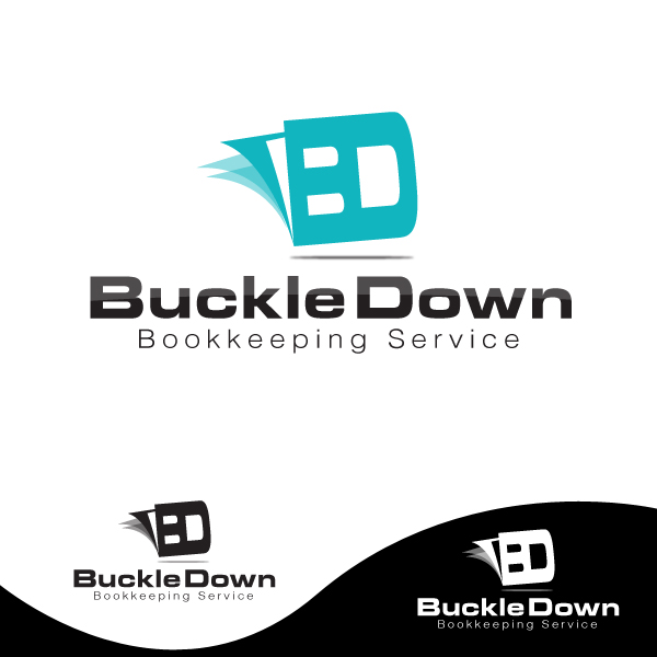 Logo Design by storm - Entry No. 44 in the Logo Design Contest Unique Logo Design Wanted for Buckle Down Bookkeeping Service.