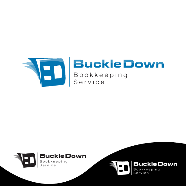 Logo Design by storm - Entry No. 46 in the Logo Design Contest Unique Logo Design Wanted for Buckle Down Bookkeeping Service.